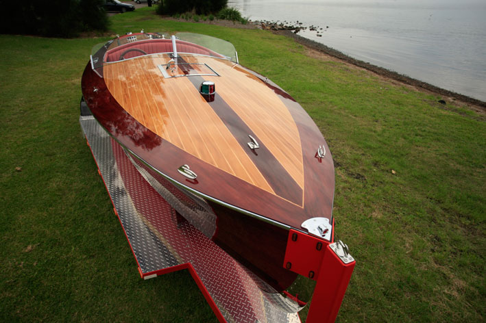 Chris Craft Hull Construction